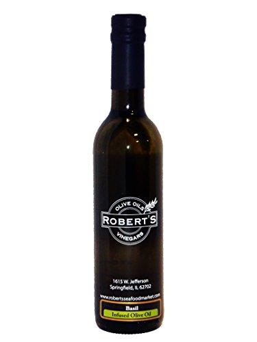 Robert's Extra Virgin Infused Olive Oil - Basil (200ml)