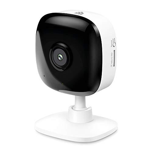 Kasa Smart 2K Überwachungskamera für Babyphone, 4MP HD Innenkamera für Haussicherheit mit Bewegungserkennung, Zwei-Wege-Audio, Nachtsicht, Cloud&SD-Kartenspeicherung, funktioniert mit Alexa & Google Home (KC400)