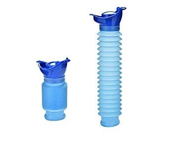 AOTM Shrinkable Urinal,Mobile Portable Emergency Urinal 750MLAdult Urinating Device for Camping Car Travel Traffic Jam and Queuing