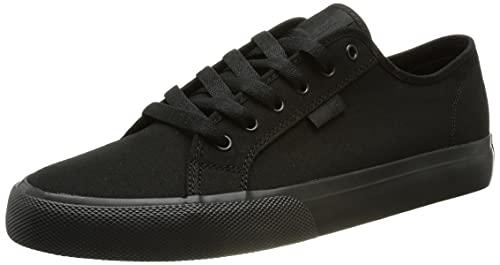 DC Shoes Manual-Shoes, Zapatillas Hombre, Negro, 42 EU
