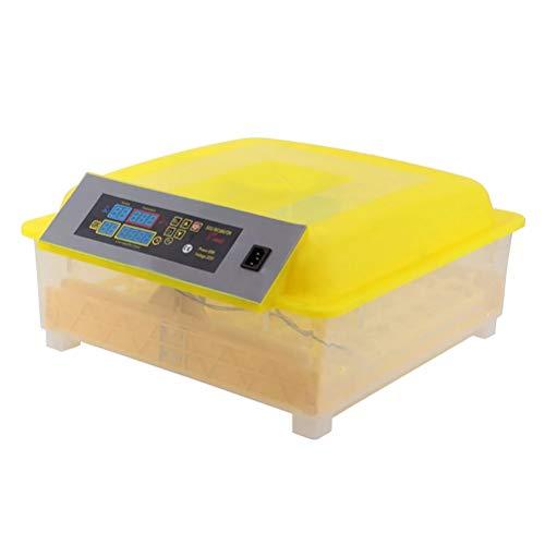 Jlxl Incubadora Automatica 48 Huevos Temperatura De Control Y Centrifugado Automático para Gallinas Patos Gansos Codornices Uso Doméstico Etc