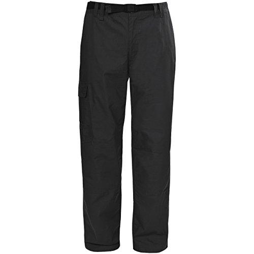 Trespass Clifton-Mens TRS TP75 Pantalons Homme, Noir, m/SL