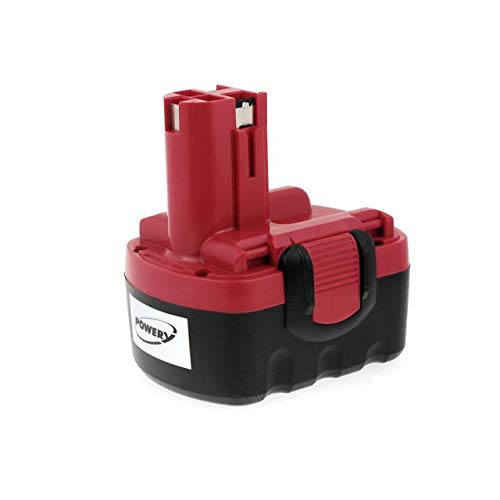 Powery Batería para Bosch Amoladora Angular GWS 14,4V NiMH O-Pack 1500mAh