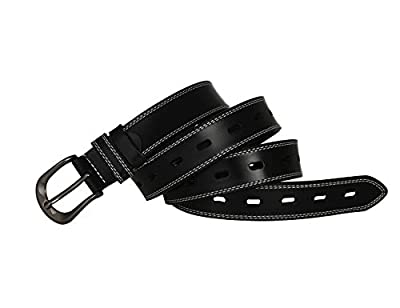 "Belts for Girls Waist Skinny Dress Belt for Jeans Pants 1.1"" Width Black XS"