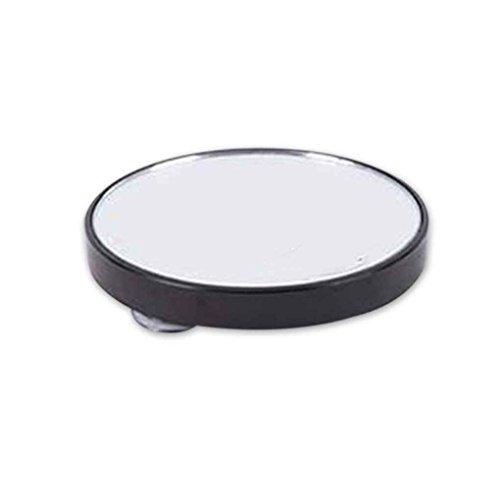 Lorjoy Ventouse Portable Petit arrondissent Miroir grossissant LED Miroirs de Maquillage