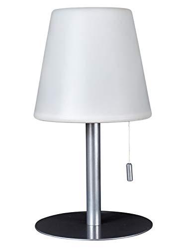 Northpoint Aufladbare LED Tischlampe 4000mAh Akku 30 Stunden Laufzeit Tischleuchte 30cm Warmweiß Dimmbar Wasserfest