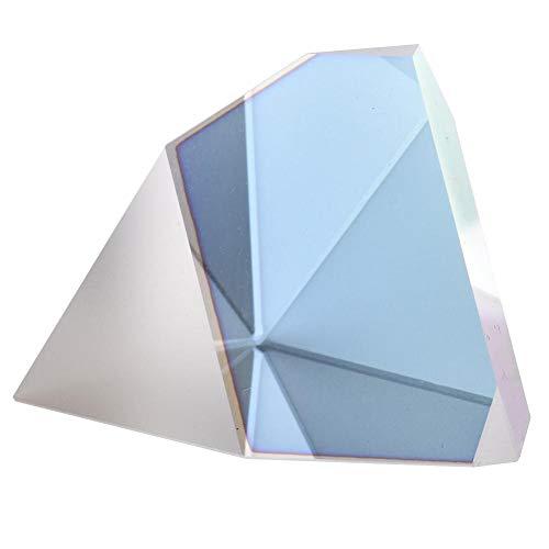PIONIN Kristallprisma,Unregelmäßiges Dachprisma,Optisches Kunststoffprisma K9 Für Den Fotografieunterricht In Der Spektralphysik