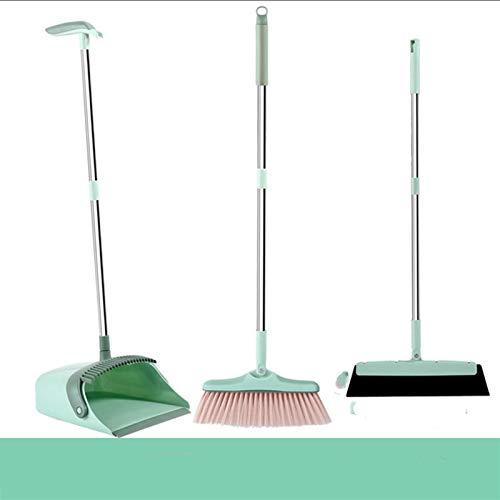 KSFBHC Juego de escoba de pelo suave combinación de polvo barredora limpia...