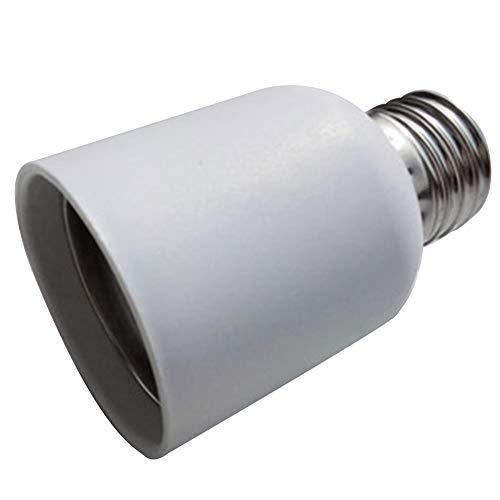 Convertidor portalámparas E27 a E40 Base tornillo plástico a prueba fuego Toma...