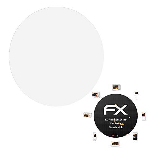 atFoliX Protector Película para Arrow Smartwatch Lámina Protectora de Pantalla, Revestimiento antirreflejos...