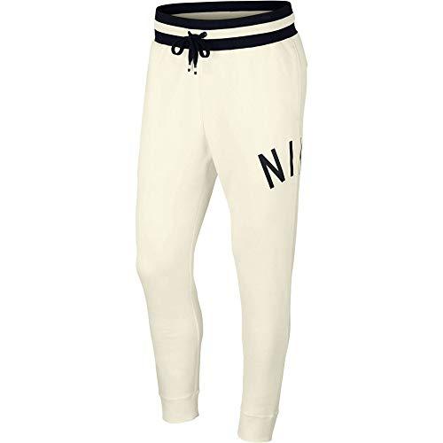 Desconocido M NSW Nike Air Pant FLC, Pantaloni Uomo, Sail/Black, M