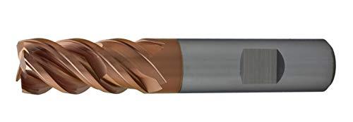 CNC QUALITÄT Fresa de alto rendimiento de 3 mm / 4 mm / 5 mm / 6 mm / 8 mm / 10 mm / 12 mm / 16 mm / 20 mm – Fresa de vástago VHM con salto núcleo, corte de alto rendimiento – 3 mm