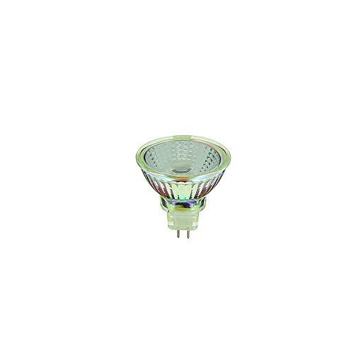 Ampoule LED Spot Classique Culot GU5.3 - Ampoule Spot LED Angle D'Éclairage 36° - Ampoules LED Lumière Blanche 5,5W Équivalant 35W 345 Lumens - Ampoule LED Blanc Froid Douille GU5.3 - VM35SCW Xanlite