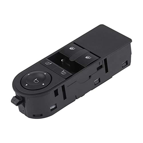 DYBANP Interruptor de Ventana de Coche, para Vauxhall Zafira B 2005-2012, botón de elevación de Interruptor de Ventana de energía eléctrica de Coche
