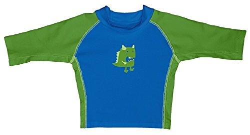 I Play – T-Shirt de natation pour enfant pour garçon Bleu/vert - Bleu -