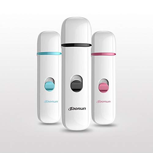 Yhjmdp Pet elektrische nagellak, USB opladen, drie soorten slijpmethoden, nagelknipper, veiligheidsbescherming, universele honden en katten
