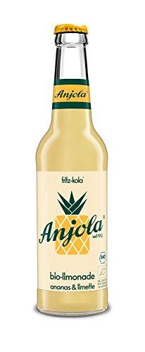 Anjola Bio-Limonade - das Original - 12 x 0,33l Glasflasche inkl. Pfand