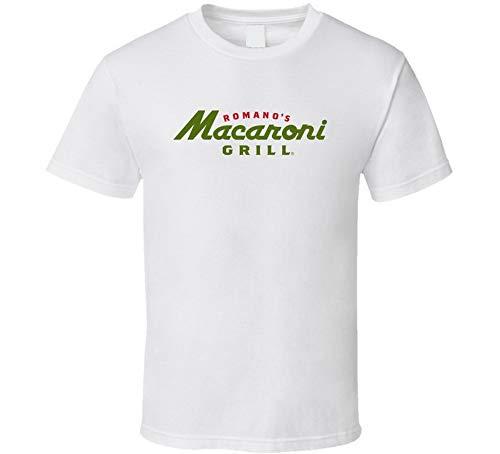 Romano's Macaroni Grill-T-Shirt, italienisches Restaurant, Geschenk, Weiß Gr. 56, blau