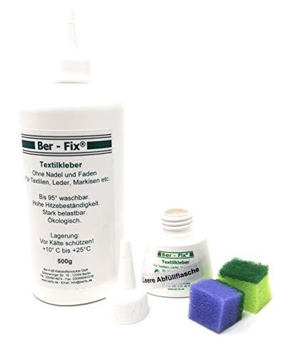 Ber-Fix® 500g Textilkleber waschmaschinenfest transparent