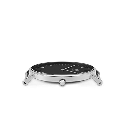 『CLASSIC BLACK新品Daniel Wellington ダニエル ウェリントン レディース腕時計 クラッシー 本革 腕時計 ピンクゴールド 36mm [並行輸入品]』の3枚目の画像