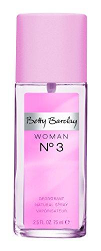 Preisvergleich Produktbild Betty Barclay Woman No. 3 femme / woman,  Deodorant,  Vaporisateur / Spray,  1er Pack (1 x 75 g)