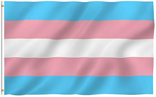 3x5 Foot Full Size Trans Pride Flag