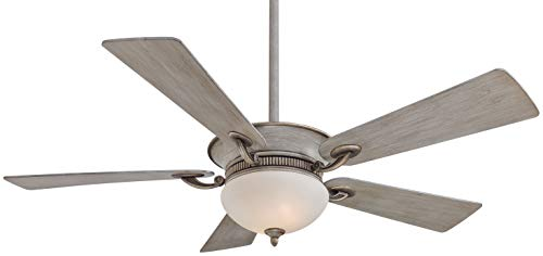 Minka-Aire F701-DRF Delano 52 Inch Ceiling Fan with Integrated Uplight and Downlight in Driftwood Finish