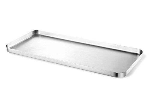 ZACK 20142 Contas Tablett, Edelstahl matt