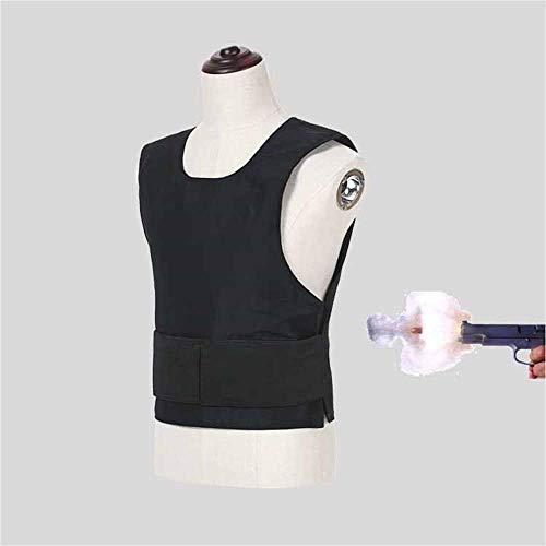 PersöNliche Sicherheit Kugelsichere Weste, Dreistufige Kugelsichere Kevlar-Faserpanzerung, Taktische Bajonett-Schutzweste,XL