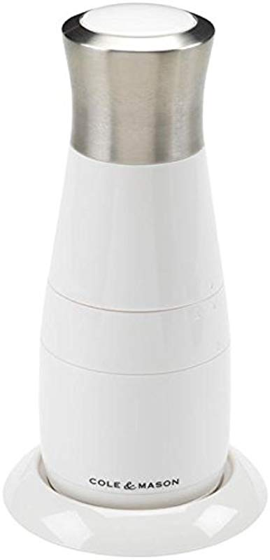 COLE MASON Electric Cheese Mill Electronic Grater White