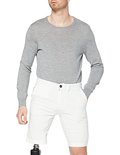 Pepe Jeans MC Queen Short Pantaloncini da Bagno, Bianco (White 800), 42 (Herstellergröße: 33) Uomo