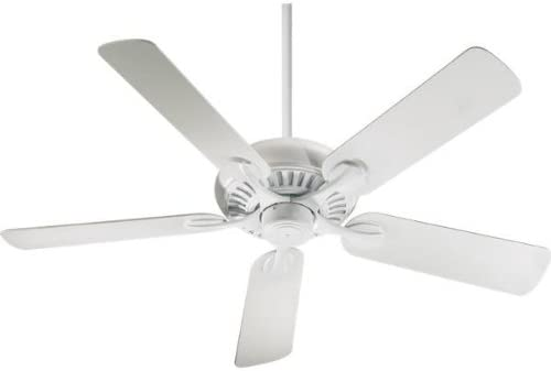Quorum 191525-8 Transitional 52``Patio Fan from Pinnacle Patio Collection in White Finish,