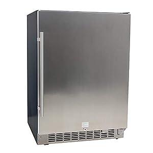 EdgeStar CBR1501SLD 5.49 Cu. Ft. EdgeStar 142 Can Built-in Stainless Steel Beverage Cooler