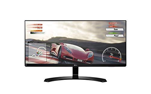 LG 29UM68-P - Monitor UltraWide de 73 cm (29 pulgadas, IPS, 2560 x 1080 pixeles, 5 ms, 21:9, 300 cd/m2, FreeSync) Color Negro
