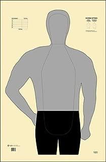IRS/Kentucky Style B-21 Silhouette Center Mass Scoring Black & Gray Size: 27