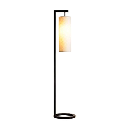 ZHDC® Stehlampe, moderne minimalistische Schlafzimmer Studie Wohnzimmer Stehleuchte kreative Persönlichkeit Lampen neue chinesische Nordic LED vertikale Tischlampe Stehlampe