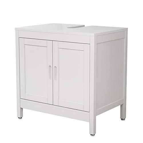Interbuild MIA Under Washbasin Unit | 2-Door Organizer | Kitchen storage cabinet | 23.62x15.75x23.43 inches