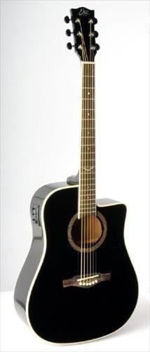 EKO NXT D CW EQ schwarz Elektroakustische Gitarre