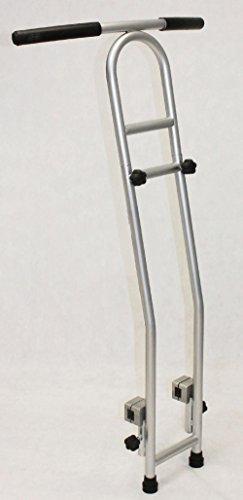 Joka Fit universele dubbele stang voor bijna alle gangbare fitnesstrampolines met vierkante frame.