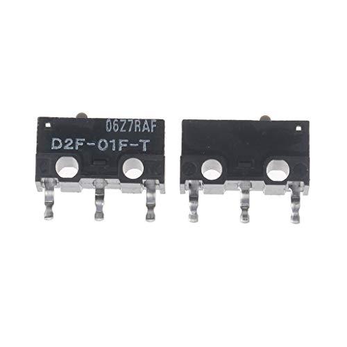zkm111 Mikroschalter 2 Original- Maus Mikroschalter D2F-01F-T Grauer Punkt Für Razer
