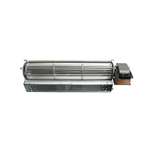 Xodo Store Ventilatore tangenziale Lunghezza Totale: 370 mm Dimensioni Bocchetta: 304x48 mm EDILKAMIN per Stufa a Pellet ECOTECK KARMEK One NORDICA EXTRAFLAME RAVELLI