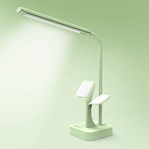 SDJGHF Tafellamp oplaadbare inklapbare LED-tafellamp oogbescherming dimbare tafellamp mobiele telefoon sterke adsorptie LED-lamp