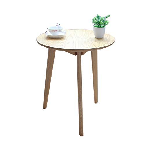 LSX-salontafel Kleine koffietafel, Ronde Tafel Theetafel Houten Eettafel Moderne Minimalistische Slaapkamer Office Lounge bijzettafel