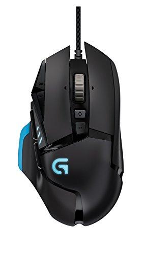 Logitech G502 Proteus Core Gaming-Maus, kabelgebunden, verstellbare Gewichte, DPI-Anpassung (Generalüberholt)