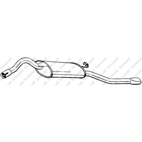 Bosal 280-655 Silencieux arrière
