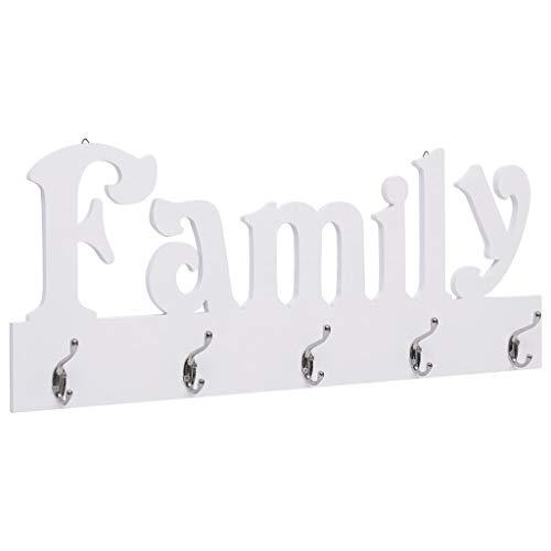 Perchero Pared Family