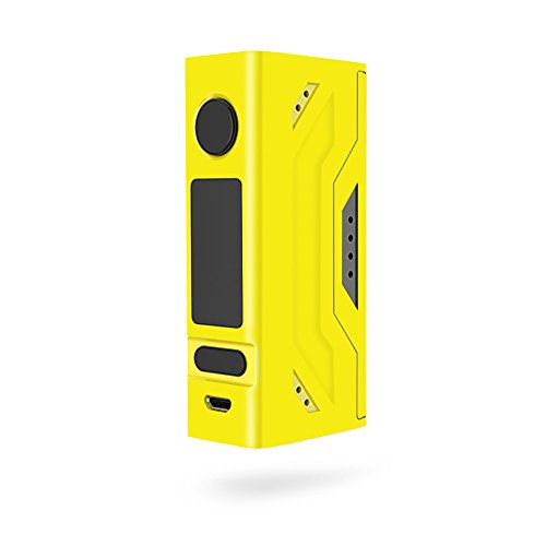 MightySkins Skin Compatible with Smoant Battlestar Mini 80W - Solid Yellow | Protective, Durable, and Unique Vinyl Decal wrap Cover | Easy to Apply, Remove, and Change Styles | Made in The USA