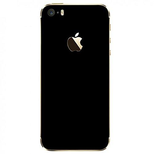 Skin Premium - Adesivo Jateado Fosco Iphone 5/5S/SE (Preto)