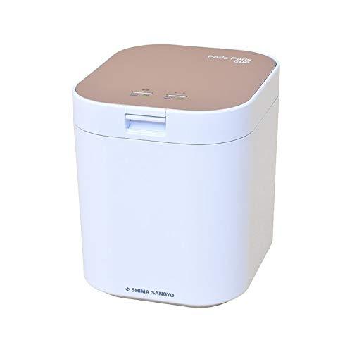 島産業 家庭用 生ごみ減量乾燥機 生ごみ処理機 パリパリキュー 1~5人用 PPC-11-PG ピンクゴールド