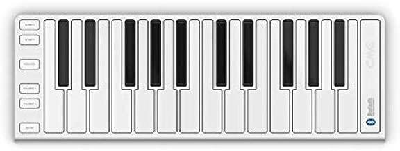 Xkey AIR 25 Key Bluetooth MIDI Controller, Silver